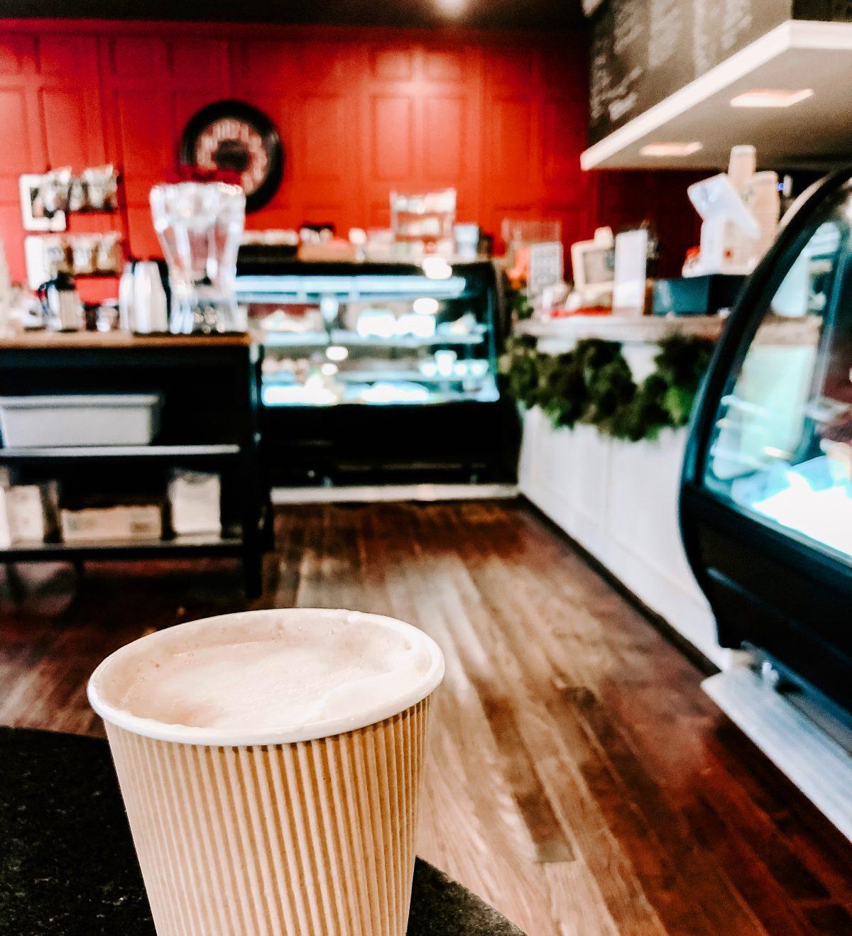 Old Mill Cafe Ellicott City Lavender Latte