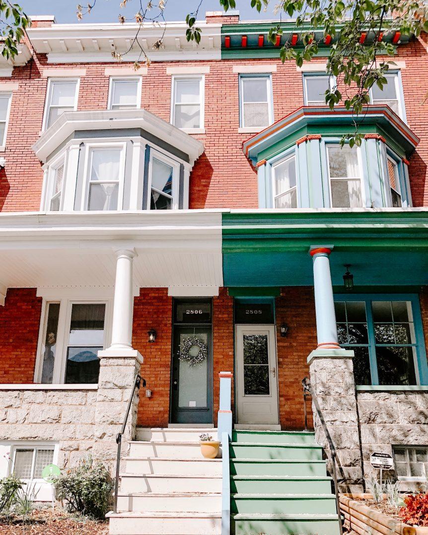 Baltimore row house